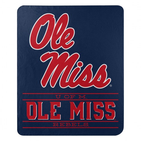 Mississippi Rebels Control Fleece Blanket