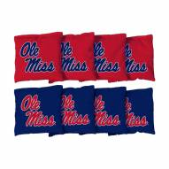 Mississippi Rebels Cornhole Bag Set