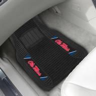 Mississippi Rebels Deluxe Car Floor Mat Set