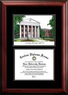 Mississippi Rebels Diplomate Diploma Frame