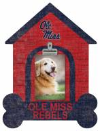 Mississippi Rebels Dog Bone House Clip Frame
