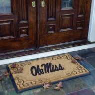 Mississippi Rebels Door Mat