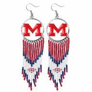 Mississippi Rebels Dreamcatcher Earrings