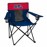 Mississippi Rebels Elite Tailgating Chair