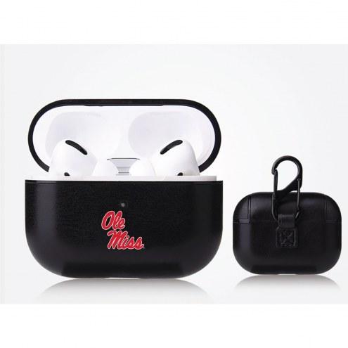 Mississippi Rebels Fan Brander Apple Air Pod Pro Leather Case