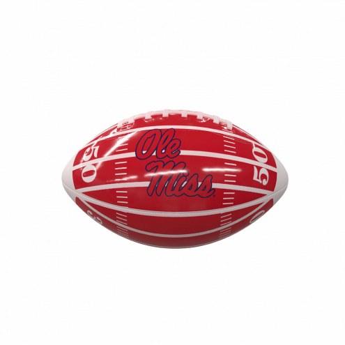 Mississippi Rebels Field Mini Glossy Football