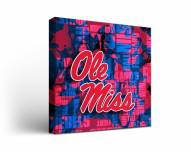 Mississippi Rebels Fight Song Canvas Wall Art