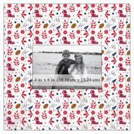 """Mississippi Rebels Floral Pattern 10"""" x 10"""" Picture Frame"""