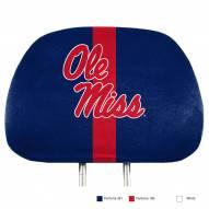 Mississippi Rebels Full Print Headrest Covers