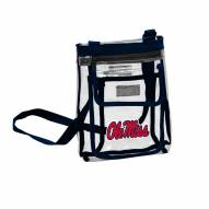 Mississippi Rebels Gameday Clear Crossbody Tote