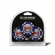 Mississippi Rebels Golf Chip Ball Markers