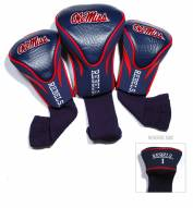 Mississippi Rebels Golf Headcovers - 3 Pack