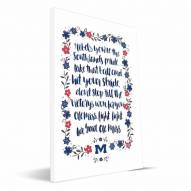 Mississippi Rebels Hand-Painted Song Canvas Print