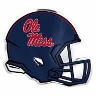 Mississippi Rebels Helmet Car Emblem
