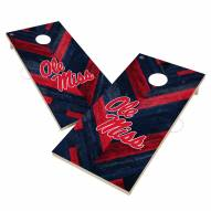 Mississippi Rebels Herringbone Cornhole Game Set
