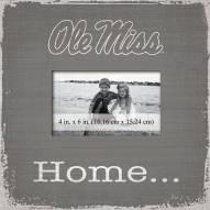 Mississippi Rebels Home Picture Frame