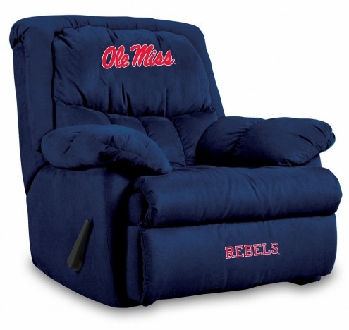 Mississippi Rebels Home Team Recliner