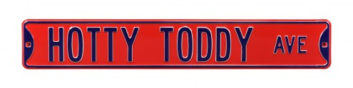 Mississippi Rebels Hotty Toddy Street Sign