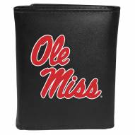 Mississippi Rebels Large Logo Tri-fold Wallet