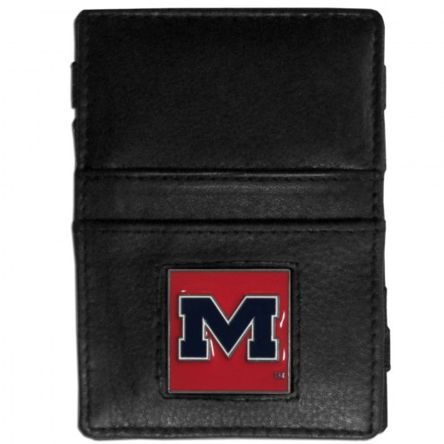 Mississippi Rebels Leather Jacob's Ladder Wallet