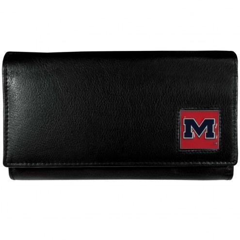 Mississippi Rebels Leather Women's Wallet