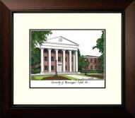 Mississippi Rebels Legacy Alumnus Framed Lithograph