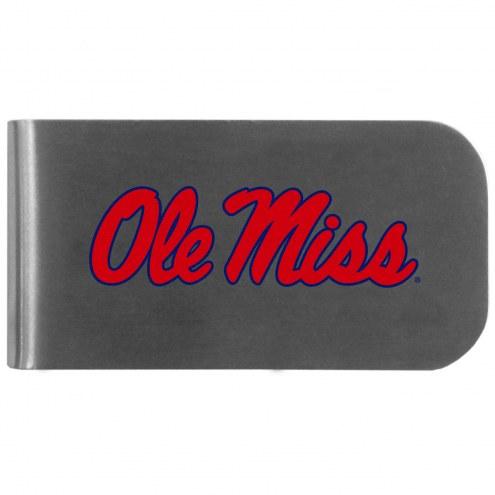 Mississippi Rebels Logo Bottle Opener Money Clip