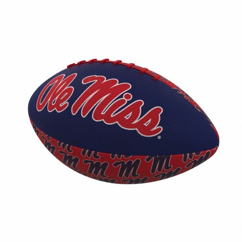 Mississippi Rebels Mini Rubber Football