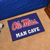 Mississippi Rebels Man Cave Starter Mat