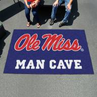 Mississippi Rebels Man Cave Ulti-Mat Rug