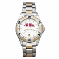 Mississippi Rebels Men's All-Pro Two-Tone Watch