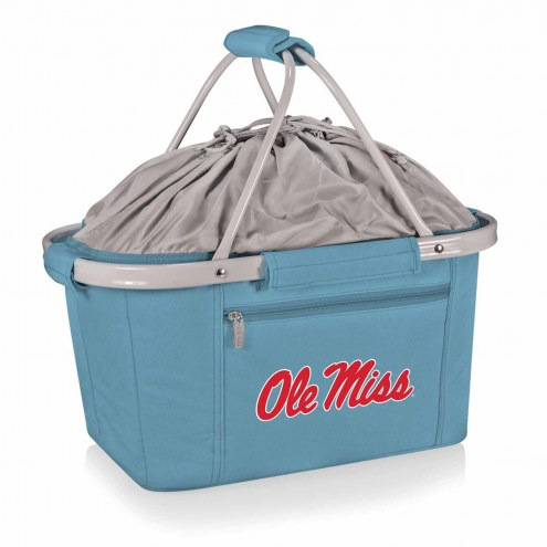 Mississippi Rebels Metro Picnic Basket