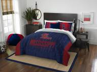 Mississippi Rebels Modern Take Full/Queen Comforter Set