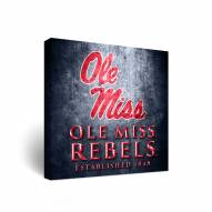 Mississippi Rebels Museum Canvas Wall Art