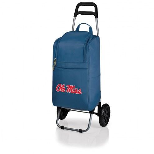 Mississippi Rebels Navy Cart Cooler