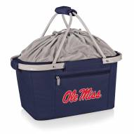 Mississippi Rebels Navy Metro Picnic Basket