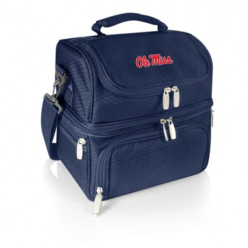 Mississippi Rebels Navy Pranzo Insulated Lunch Box