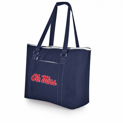 Mississippi Rebels Navy Tahoe Beach Bag