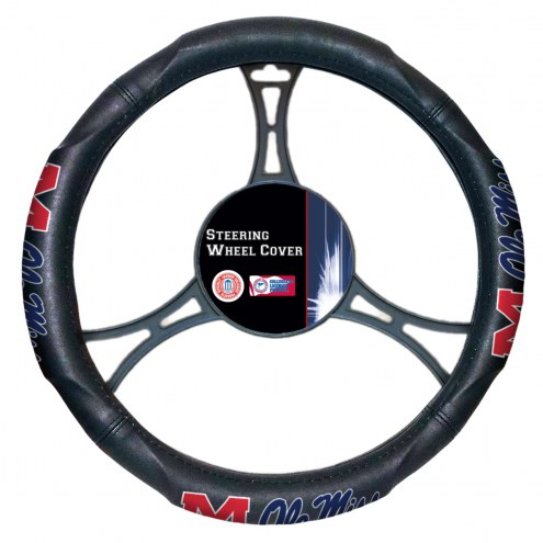 Mississippi Rebels Steering Wheel Cover