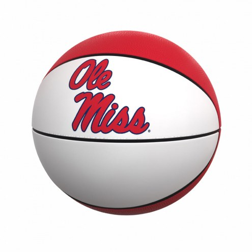 Mississippi Rebels Full Size Autograph Basketball