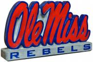 "Mississippi Rebels ""Ole Miss"" Stone College Mascot"