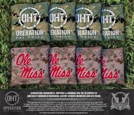 Mississippi Rebels Operation Hat Trick Cornhole Bag Set