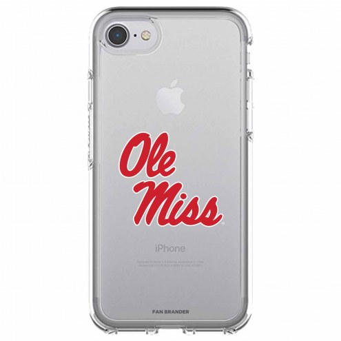 Mississippi Rebels OtterBox iPhone 8/7 Symmetry Clear Case