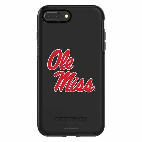 Mississippi Rebels OtterBox iPhone 8 Plus/7 Plus Symmetry Black Case