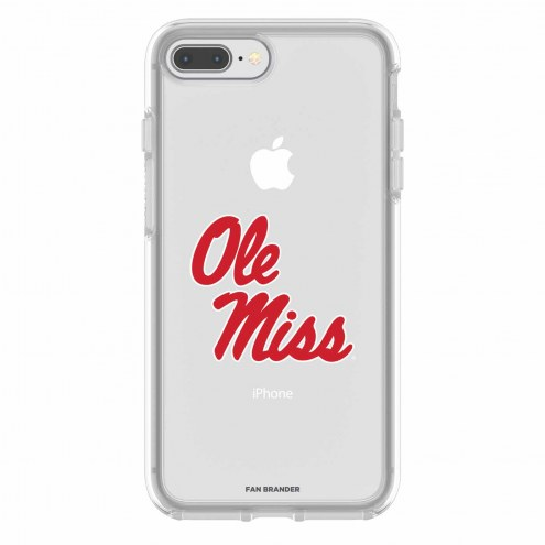 Mississippi Rebels OtterBox iPhone 8 Plus/7 Plus Symmetry Clear Case