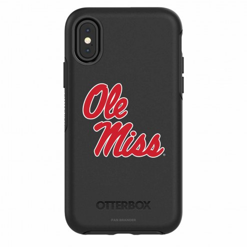 Mississippi Rebels OtterBox iPhone X Symmetry Black Case