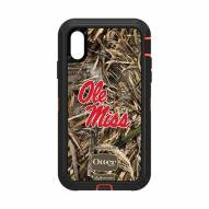 Mississippi Rebels OtterBox iPhone XR Defender Realtree Camo Case