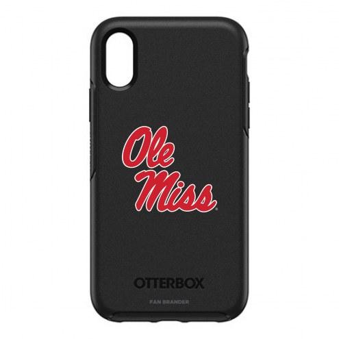 Mississippi Rebels OtterBox iPhone XR Symmetry Black Case