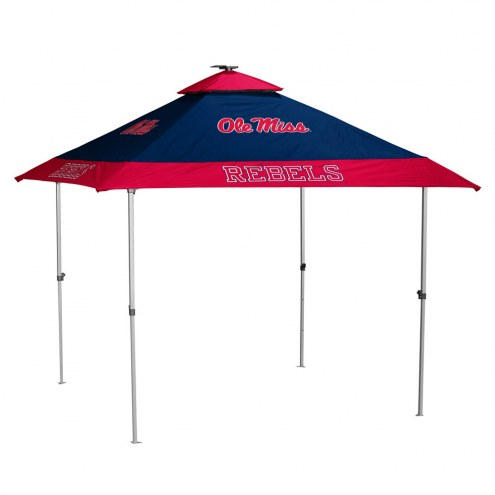 Mississippi Rebels Pagoda Tent with Lights