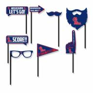 Mississippi Rebels Party Props Selfie Kit